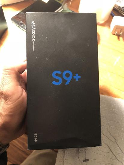 BRAND NEW SAMSUNG GALAXY S9 PLUS 128GB SEALED IN BOX