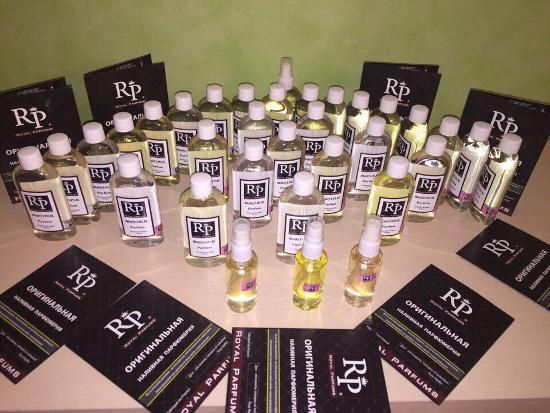 Розливні парфуми Royal Parfums