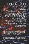 SIX DIFFERENT SCIENCE FICTION SHORT STORIES IN ONE BOOK ONE STORY IN RUSSIAN